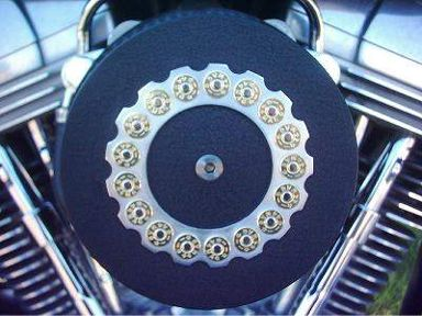 Custom Harley Davidson Air Cleaner Cover